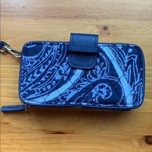 Vera Bradley Iconic RFID Smartphone Wristlet